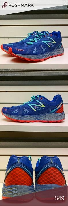 New Balance Fresh Foam 980 Trail  Running size 8 New Balance Fresh Foam 980 Trail Running size 8 women's. Uppers are in new and soles are in new condition. Only worn once and in new condition. New Balance Shoes Athletic Shoes
