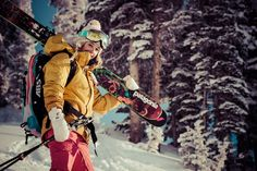 backcountry skiing women - Google Search