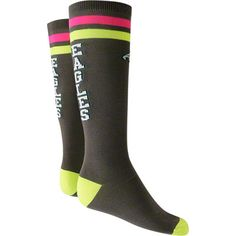 Light up the game! #Eagles Neon Tube Sock $11.99  Hailey would ♡ these!