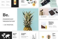Be Powerpoint Presentation +30Photos by Fromade Studio on @creativemarket
