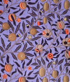 William Morris  Обои и текстиль.Англия,конец ХIХ-нач.ХХ