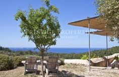 CAN JOAN DES CUCONS. Charming renovated finca with Magnificent view of the sea and sunsets...See more at Ref. 5487
