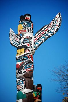 Totem pole. The only info I've found so far is this: Vancouver Island.