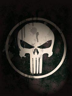 Phone Wallpaper Design, Black Phone Wallpaper, Skull Wallpaper, Marvel Wallpaper, Dark Wallpaper, Galaxy Wallpaper, Punisher Logo, Punisher Marvel, Punisher Skull