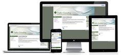 Beim Responsive Design gibt es eine Website, einen Inhalt. Was sich anpasst ist das Layout und die Anordnung der Inhalte. Egal, ob Sie auf einem Tablet, einem Laptop, einem Desktoprechner oder einem Smartphone surfen. Die Navigation sowie die Inhalte werden den jeweiligen Platzverhältnissen angepasst und reagieren somit flexibel auf die verschiedenen Anforderungen. www.gafnerweb.ch Desktop, Web Design, Layout, Electronics, Surf, Don't Care, Design Web, Page Layout, Website Designs