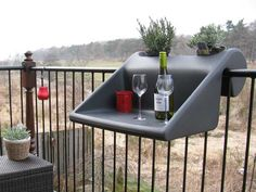 Un simpatico tavolino per il balcone