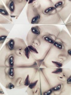 """Mirror, Mirror,"" featuring Mathilde//Hordur Ingason for FAULT 2012)."