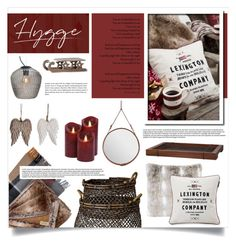 """Hygge"" by retrocat1 ❤ liked on Polyvore featuring interior, interiors, interior design, home, home decor, interior decorating, Gubi, Lexington, By Nord and Lene Bjerre"