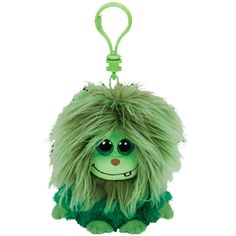 TY Frizzy Scoops Plush Clip