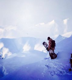 Standing at the top - #Snowboarding Better love your #board | www.boardtrader.com