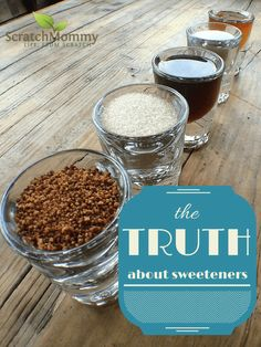 The Truth About Alternative Sweeteners {And How to Substitute for Sugar}