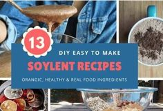 13 DIY Soylent Recipes From Around The World For Your Daily Nutrition Easy Diet Plan, Low Carb Diet Plan, Real Food Recipes, Diet Recipes, Diet Meals, Ketosis Diet Plan, Bowls, Weight Loss Smoothie Recipes, Nutribullet Recipes