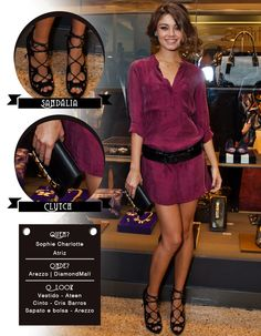 Arezzo: Sophie Charlotte | Fashionistando | Moda, Tendências, Entrevistas, Beleza e Turismo
