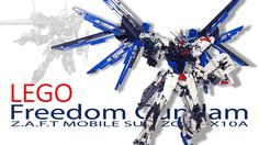 Full Review : https://www.youtube.com/watch?v=ilg43m2OSko  Type : Lego Gundam Material : LEGO Building time : 7 months Name : Freedom Gundam Code : ZGMF-X10A Pilot : Kira Yamato Series :  _Mobile Suit Gundam Seed (機動戦士ガンダムSEED (シード) Kidō Senshi Gandamu Shīdo)  _Mobile Suit Gundam Seed Destiny (機動戦士ガンダムSEED DESTINY Kidō Senshi Gandamu Shīdo Desutinī) Height : 21 inch Wing's length : 15 inch