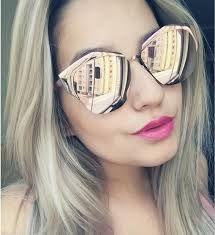 Resultado de imagem para oculos de sol espelhado prata