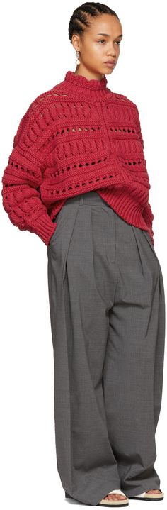 Isabel Marant - Red Zoe Sweater