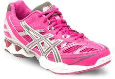 0260d57c8da1a NEW July Asics Womens GEL Netburner Ignites 7 Netball Shoes Pink RRP $190  00 | eBay