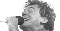 Bruce Springsteen performs at  Slane in  June 1985. Photograph: Matt Kavanagh/The Irish Times