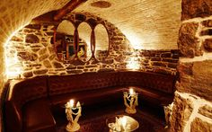 The Cocktail Bar in America's Oldest Tunnel Le Boudoir, a Marie Antoinette-themed underground cocktail bar in Brooklyn—complete with a perfect replica of her private bathroom—has an exciting addition. The cocktail lounge, which can be found via a secret bookshelf entrance at the back of French bistro Chez Moi, was built out of remnants of a centuries-old Atlantic Avenue railroad tunnel. Untapped Cities reported that the tunnel, built in 1844, is the oldest tunnel under any city street in…