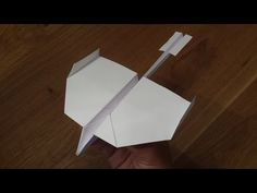 How To Make a Paper Airplane that Flies Far - World's Best Paper Airplane (Swallow) - YouTube