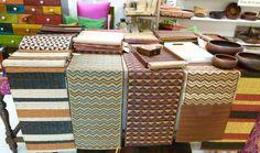 natural fibre table runners & mats