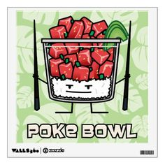 a0dfe3352a5  Poke bowl Hawaii raw fish salad chopsticks aku Backpack -  travel   accessories. from zazzle.com · Pork Bun dim sum Chinese cha siu bao  steamed bbq Wall ...