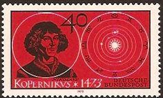 Germany 1973 Copernicus Commemoration.
