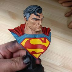 Superman printed by david_warboss #toysandgames #prusasl1
