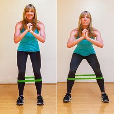 Squat Walks With Resistance Band