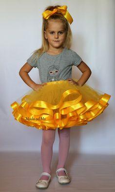 Spódniczka dziecięca dla dziewczynki tiulowa żółta - moda_od_ms - Spódniczki dla dziewczynek Disney Characters, Fictional Characters, Tulle, Disney Princess, Skirts, Etsy, Tutu, Skirt