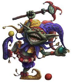 Goblin Jester by joeshawcross.deviantart.com on @DeviantArt