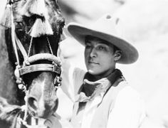 Rudolph Valentino in Palm Springs, ca. 1922.