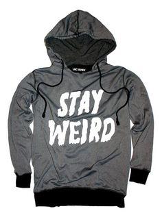 http://store.jacvanek.com/PhotoGallery.asp?ProductCode=stayweird-hoodsweatshirt