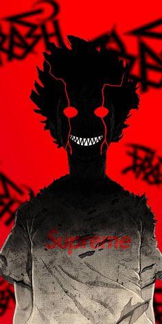 Dark Anime Wallpaper – Darkness Overload - Anime World 2020 Scary Wallpaper, Anime Wallpaper Phone, Cool Anime Wallpapers, Graffiti Wallpaper, Animes Wallpapers, Mob Psycho 100 Wallpaper, Skull Wallpaper, Wallpaper Darkness, Mob Psycho 100 Anime
