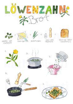 Rezeptidee für den Frühling: Löwenzahnbrot! Viel Spaß beim Sammeln & guten Appetit!