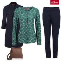 Check out 1 blouse -  3 styles #outfit #coat