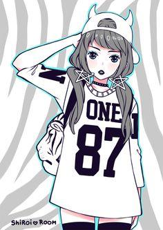 Imagem de cute, anime, and girl