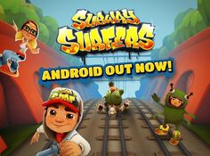 If you are a adventure seeker. try this game out. Run for your life. game available on both ios and android. Subway Surfers Game, Studio S, Android Apps, New Orleans, Arcade, Skateboard, Temple, Adventure, Games