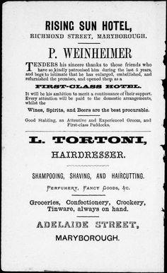 Maryborough Almanac 1875