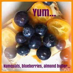 Almond Butter, Plum, Blueberry, Fruit, Food, Berry, Essen, Meals, Yemek