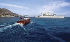 Tender to m/y CHRISTINA O - Valef Yachts