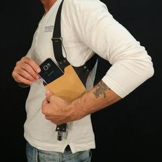 Phone Holster, Gun Holster, Leather Holster, Leather Bag, Leather Keychain, Holsters, Leather Wallet, Thick Leather, Natural Leather