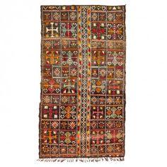 """Vintage Moroccan Wool Rug - 5'7""""x9'10"""""""