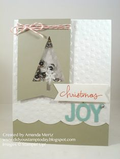 Did You Stamp Today?: Christmas in August - Stampin' Up! Tree Punch