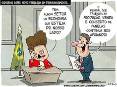 """Os """"Panelaços"""" continuarão... Os produtores e comerciantes de panelas não deixarão de apoiar os discursos de Dilma..."""