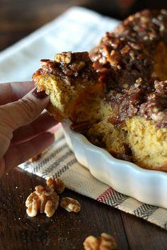 Pumpkin Praline Monkey Bread