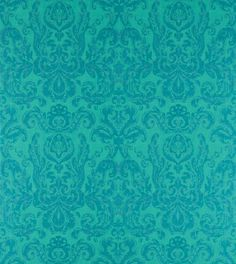 Shop for Wallpaper at Style Library: Brocatello by Zoffany. This most iconic wallpaper pattern in the Zoffany range was originally inspired by a c. Unusual Wallpaper, Peacock Wallpaper, Metallic Wallpaper, Damask Wallpaper, Print Wallpaper, Textured Wallpaper, Pattern Wallpaper, Room Wallpaper, Zoffany Wallpaper