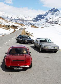 Maserati Merak, SM and Ghibli