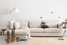 whkmp's own hoekbank links Noa , Beige Sofa, Couch, Living Room, Furniture, Home Decor, Products, Decoration Home, Room Decor, Settee