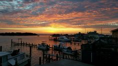 Silver Lake Harbor Sunset.  Susie Marchesani